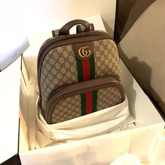 d291aa68eed7 Gucci Bags | Ophidia Gg Medium Backpack | Poshmark